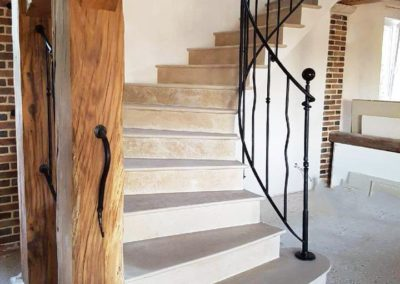 Escalier à voûte sarrasine